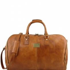 Мужская кожаная дорожная сумка, предназначенный для перевозки вещей от Tuscany Leather, арт. Antigua TL141538