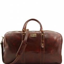 Большая мужская дорожная сумка с одним вместительным отделом от Tuscany Leather, арт. FRANCOFORTE FC140860