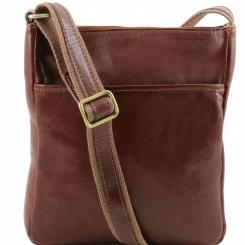 Мужская кожаная сумка планшет с регулируемым наплечным ремнем от Tuscany Leather, арт. Jason TL141300