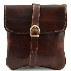 Практичная мужская сумка планшет небольшого размера из натуральной кожи от Tuscany Leather, арт. JOE TL140987