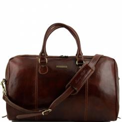 Мужская дорожная сумка с широко открывающимся отделом на молнии от Tuscany Leather, арт. PARIGI TL1045