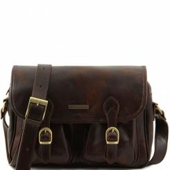 Мужская сумка через плечо из натуральной кожи, модель для документов А4 от Tuscany Leather, арт. SAN MARINO TL10180