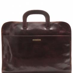 Мужская папка для документов, выполненная из плотной натуральной кожи от Tuscany Leather, арт. SORRENTO TL141022