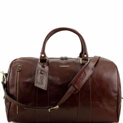 Большая мужская дорожная сумка с прочными ручками и наплечным ремнем от Tuscany Leather, арт. VOYAGER TL141217