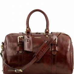 Мужская дорожная сумка с широким доступом к основному отделу от Tuscany Leather, арт. VOYAGER TL141248