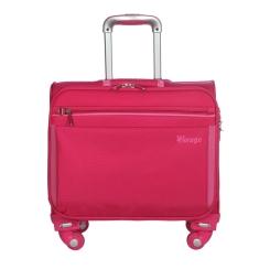 Кейс-пилот с длинной выдвижной ручкой и четырьмя вращающимися колесами от Verage, арт. GM11015 10 blow pink