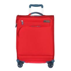 Ярко-красный дорожный чемодан-тележка, подходит в ручную кладь от Verage, арт. GM17016W20 san red