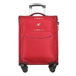 Практичный дорожный чемодан тележка для ручной клади, модель красного цвета от Verage, арт. GM17026W18,5 red