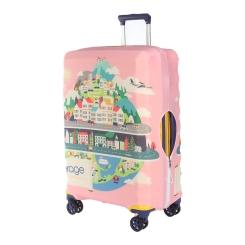 Защитное покрытие для чемодана из полиэстера и лайкры, с красивым принтом от Verage, арт. VG5296X L