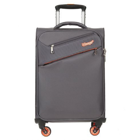 Небольшой чемодан тележка на колесах, из нейлона, серого цвета от Verage, арт. GM15089W18.5 grey