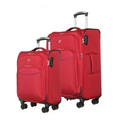 Комплект чемоданов Verage GM17026W 18,5/24 red