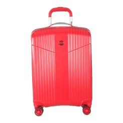 Чемодан тележка на колесах из поликарбоната, красного цвета от Verage, арт. GM17072W19 ruby red