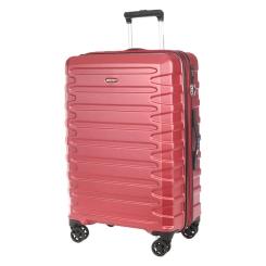 Чемодан тележка на колесах, из поликарбоната, красного цвета от Verage, арт. GM17106W25 cardinal red