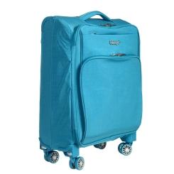 Голубой дорожный чемодан из прочного и устойчивого к износу материала от Verage, арт. GM15012 w20 blue