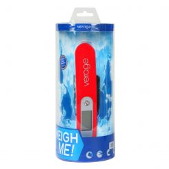 Износостойкие и долговечные электронные дорожные весы для багажа от Verage, арт. VG5520 chilly red