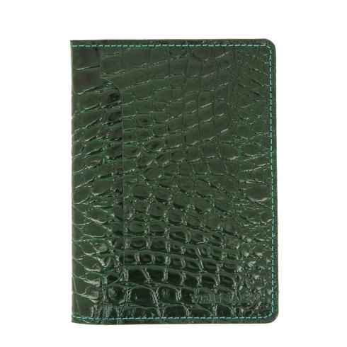 Обложка для автодокументов Versado 044 2 green croco