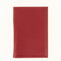 Обложка для паспорта Versado 066 1 relief red