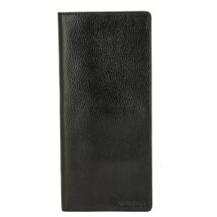 Универсальная визитница из натуральной кожи с естественной фактурой от Versado, арт. 084 black