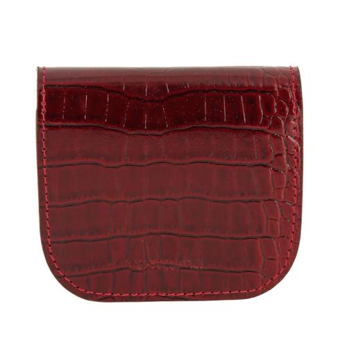Монетница Versado 137 red croco