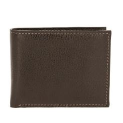 Коричневое портмоне из плотной кожи с естественной фактурой от Versado, арт. B300 relief brown
