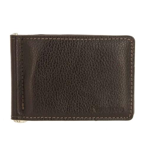 Зажим для денег Versado VD134 relief brown