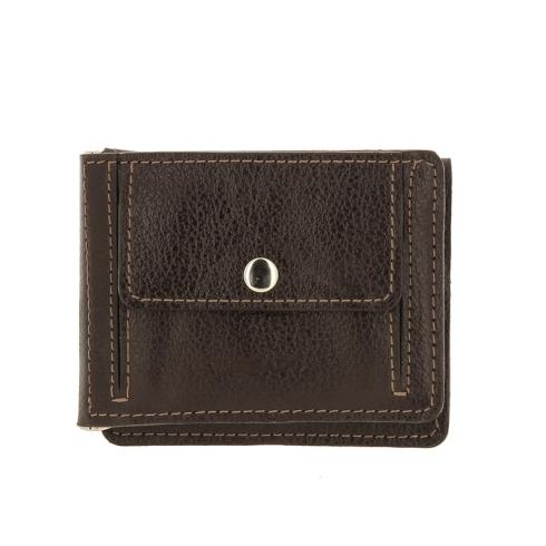 Зажим для денег Versado VD135 relief brown