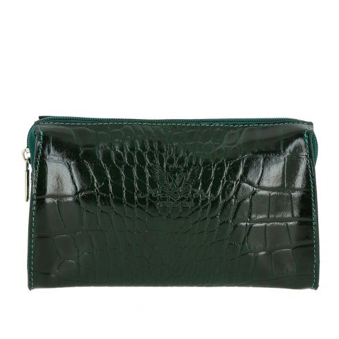 Косметичка Versado VD149 green croco
