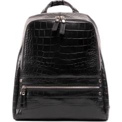 Кожаный рюкзак Versado VD170 black stone