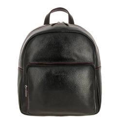 Женский рюкзак из плотной натуральной кожи, модель небольшого размера от Versado, арт. VD235 2 black