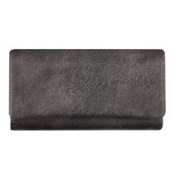 Раскладывающаяся ключница из мягкой натуральной кожи с жесткими стенками от Versado, арт. 027 grey
