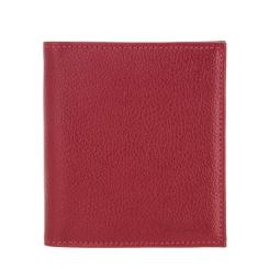 Красная визитница из натуральной зернистой кожи от Versado, арт. 078 red