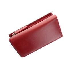 Практичный женский кошелек из натуральной яркой кожи от Visconti, арт. HT32 Picadilly Red