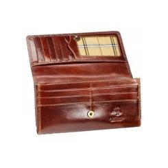 Роскошный женский кошелек из натуральной кожи с глянцевым покрытием от Visconti, арт. MZ10