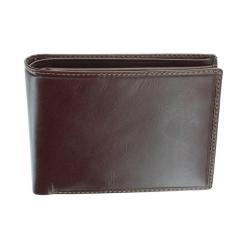 Практичное мужское портмоне, выполненное в лаконичном стиле от Visconti, арт. MZ4 Lazio Italian Brown