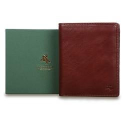 Мужское элегантное портмоне из кожи высокого качества от Visconti, арт. TSC49 Tan