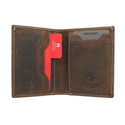 Компактное мужское портмоне с защитой от считывания карт от Visconti, арт. VSL26 Oil Tan